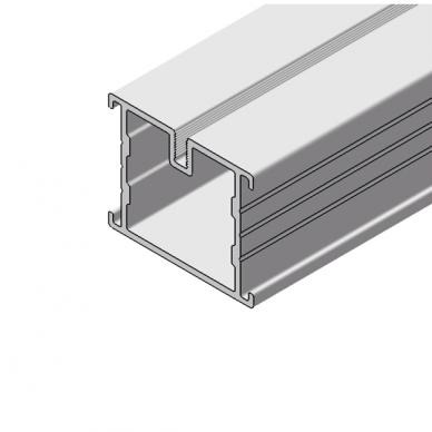 Aliumininė lagių sistema terasoms 38x45x3000 mm