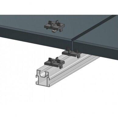 Aliuminio sija 40x40x4000 mm 3
