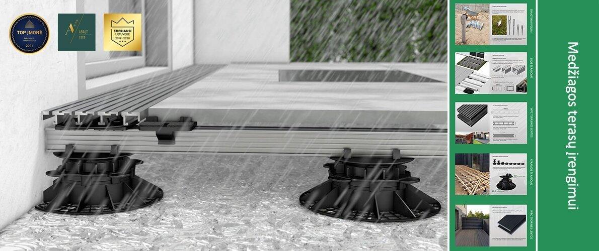 Medžiagos terasoms