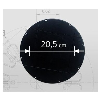 Reguliuojamas pjedestalas 120 mm - 170 mm plytelėms 4