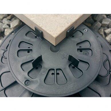 Reguliuojamas pjedestalas 15 mm - 19 mm plytelėms 2