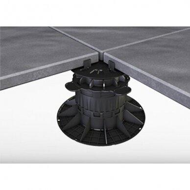 Reguliuojamas pjedestalas 15 mm - 19 mm plytelėms 7