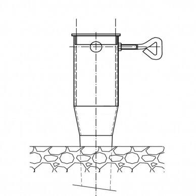 Sraigtinis polis 68x900 mm 2