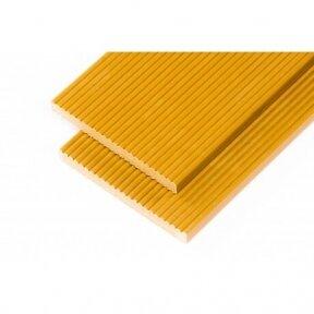 WPC tvorų skersinis 1m. Geltona