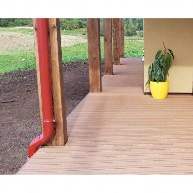 WPC terasinė lenta ART1   Karamelė 1m. 5