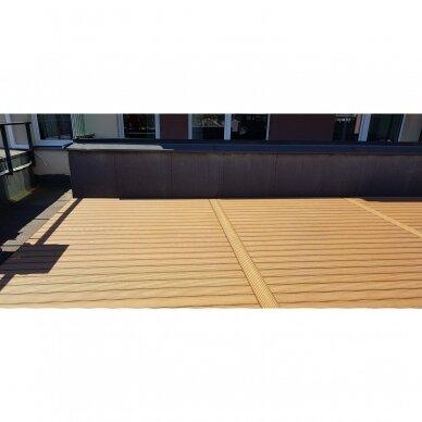 WPC terasinė lenta ART1   Karamelė 1m. 6