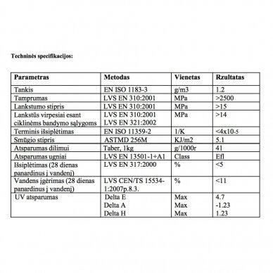 WPC terasinė lenta ART1 | Olive 1m. 3