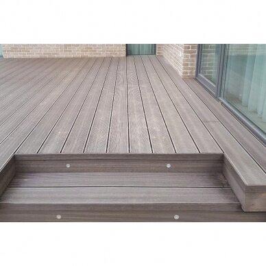 WPC terasinė lenta ART4   Karamelė 1m. 5
